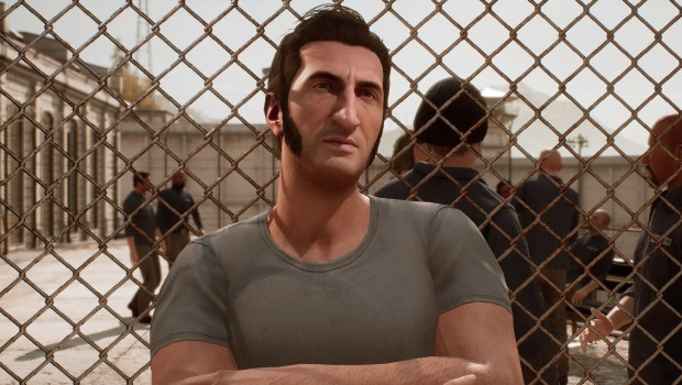 A Way Out screenshot of one of the characters in prison