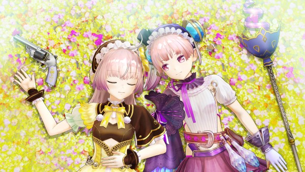 Atelier Lydie & Suelle: The Alchemists and the Mysterious Paintings screenshot of the two twins relaxing