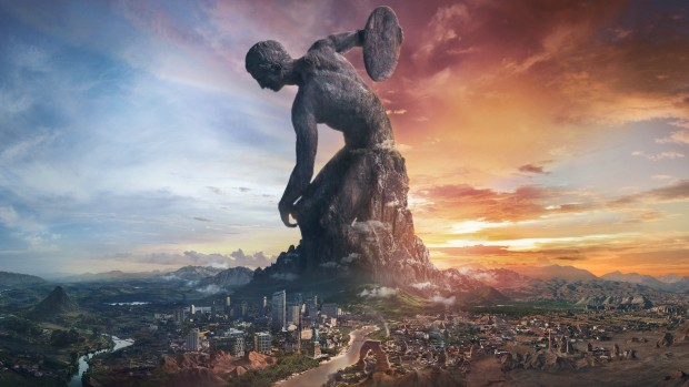 Civilization VI official artwork for the Rise and Fall expansion