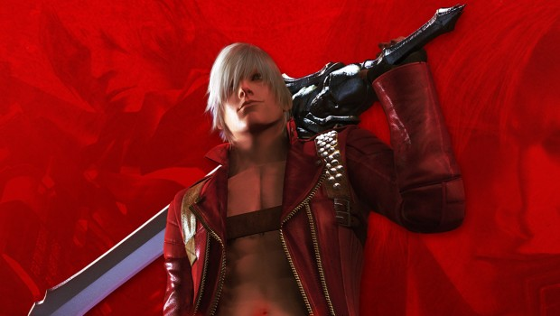 Devil May Cry HD Collection official artwork showing off Dante