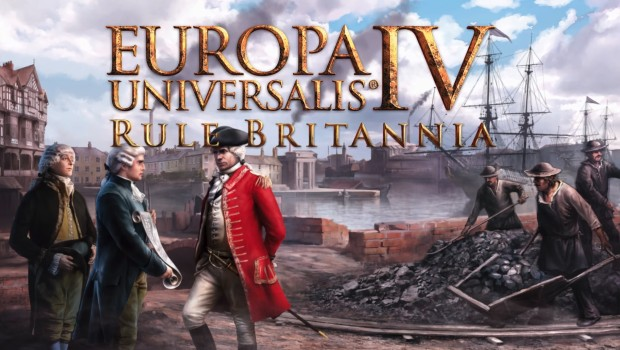 Europa Universalis IV's Rule Britannia official artwork and logo