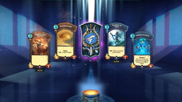 Fearia screenshot of a card pack or loot box