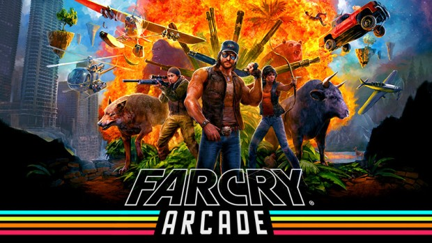 Official artwork for the Far Cry 5 arcade system