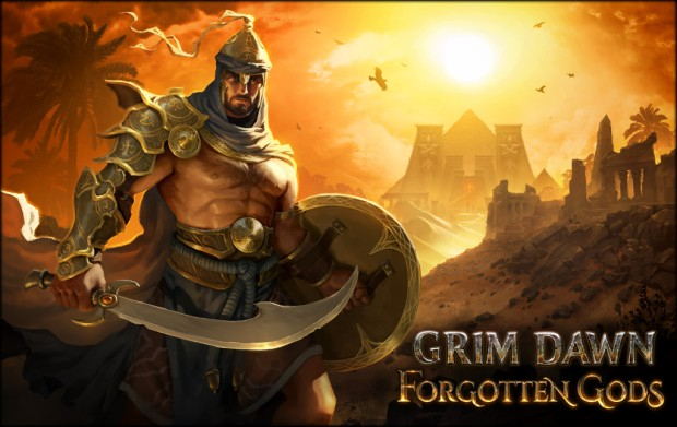 Grim Dawn official artwork for the Forgotten Gods expansion