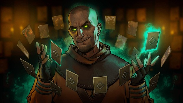 Gwent artwork showing Gaunter o'Dimm