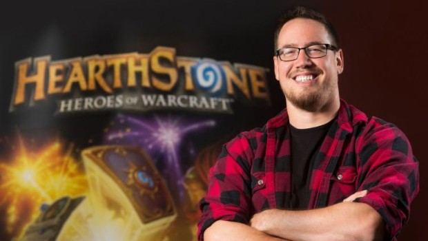 Photo of Hearthstone's former game director Ben Brode