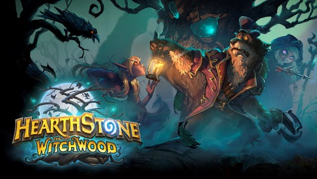 Hearthstone official artwork for The Witchwood expansion