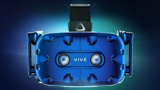 HTC Vive Pro official photograph from the front