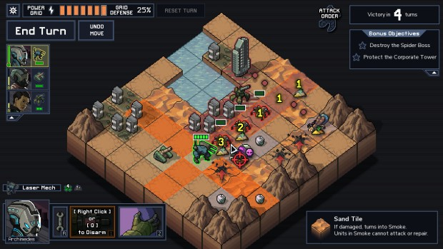 Into the Breach fighting in the desert