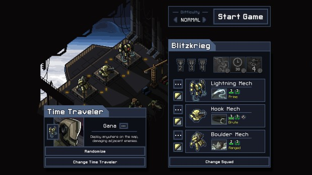 Into the Breach choosing your mech loadout