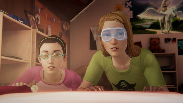 Life is Strange Farewell bonus episode screenshot of young Chloe and Max