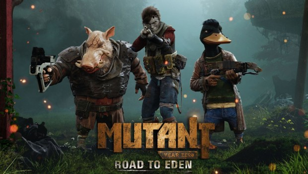 Mutant Year Zero: Road to Eden artwork showing the main characters