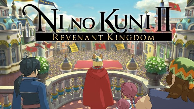 Ni No Kuni 2: Revenant Kingdom official artwork and logo