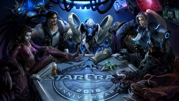 StarCraft artwork for the 20th anniversary celebration
