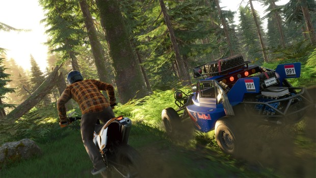 The Crew 2 screenshot of some off-road driving