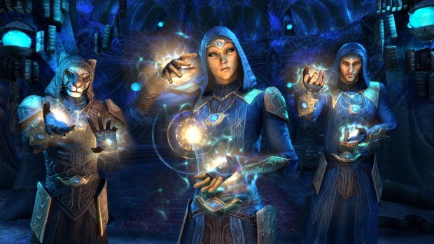 The Elder Scrolls Online screenshot of the Psijic Order from Summerset