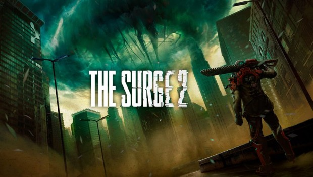 The Surge 2 official artwork and logo