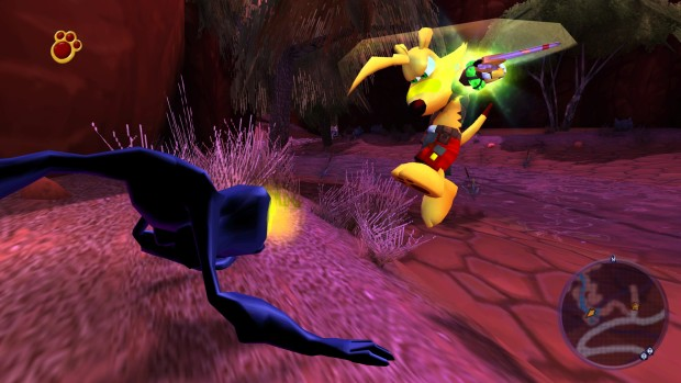 TY the Tasmanian Tiger 3 screenshot of the melee combat