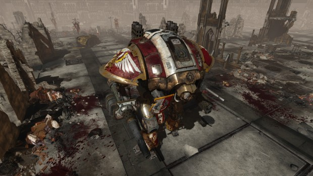 Warhammer 40k: Inquisitor - Martyr screenshot of an Imperial mech