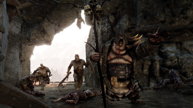 Warhammer: Vermintide 2 screenshot of the leech enemy