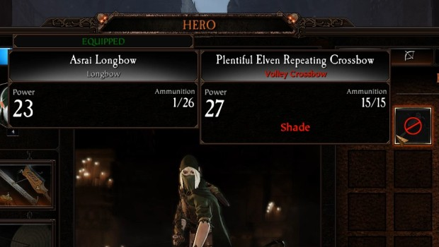Warhammer: Vermintide 2 screenshot of the lacking item descriptions
