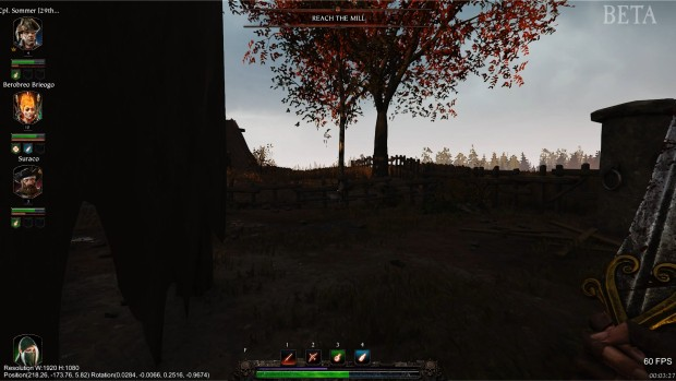 Warhammer Vermintide 2 screenshot of the HDR lighting problem