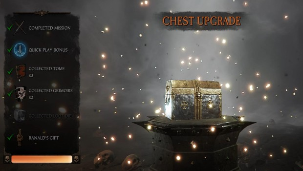 Warhammer: Vermintide 2 screenshot of the loot boxes