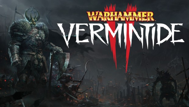 Warhammer: Vermintide 2 screenshot of Bardin as a Slayer against Chaos forces