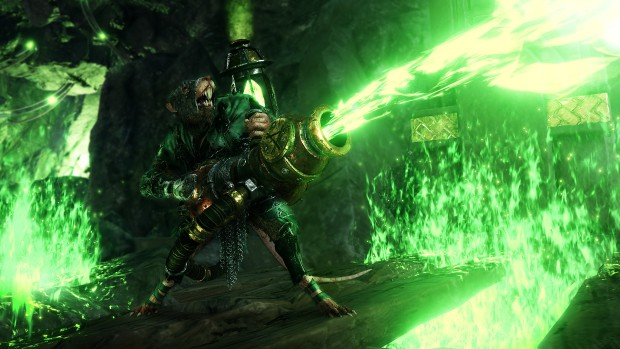 Warhammer: Vermintide 2 screenshot of the Skaven Warpfire Thrower