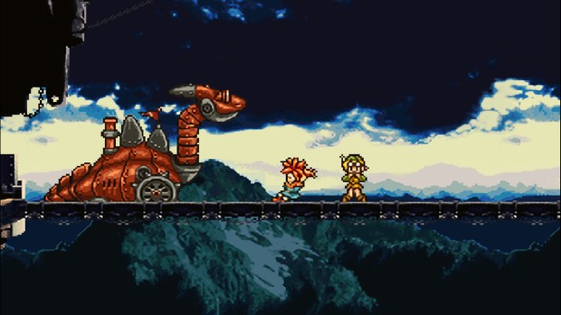Chrono Trigger screenshot of a boss attack from the PC version