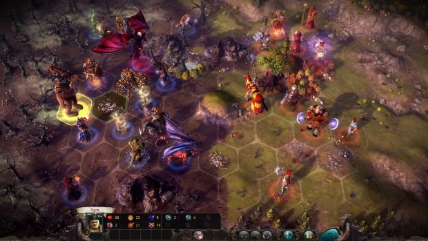 Eador: Masters of the Broken World screenshot of some Heroes of Might and Magic inspired gameplay