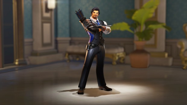Overwatch Retribution update screenshot of the Hanzo legendary skin