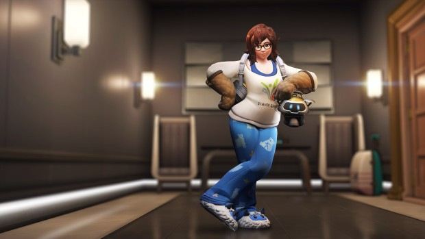 Overwatch Retribution update screenshot of the Mei legendary skin