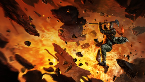 Red Faction Guerrilla official artwork for the remastered version