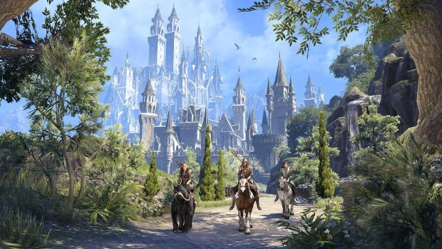 The Elder Scrolls Online: Summerset screenshot of Alinor