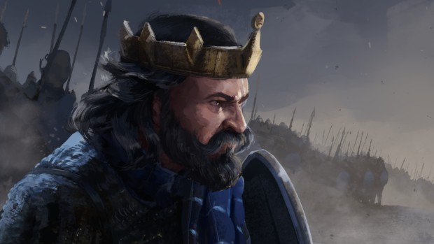 Total War Saga: Thrones of Britannia official artwork showing off a king