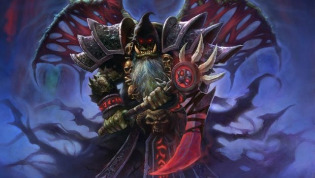 Hearthstone official artwork for Bloodreaver Gul'Dan