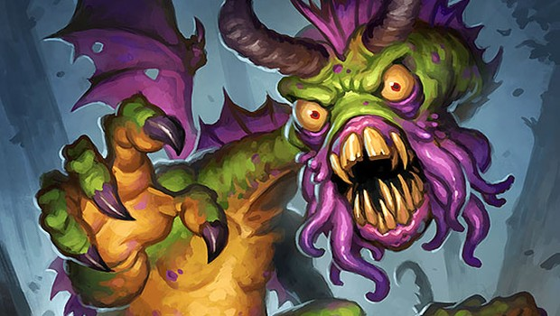 official artwork for Hearthstone's Shudderwock card