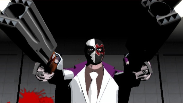 Killer7 official screenshot from the PC (Steam) version