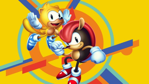 Sonic Mania Plus artwork for the two new characters