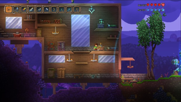 Screenshot of the now-canceled Terraria: Otherworld