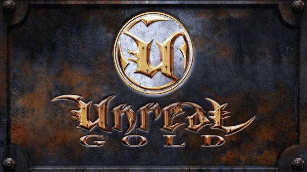 Official artwork for the classic FPS Unreal Gold