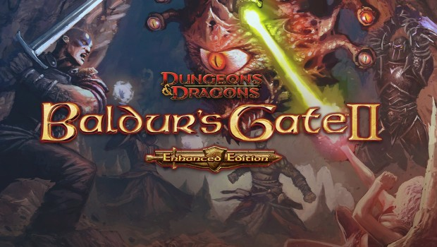 Baldur's Gate 2: Enhanced Edition official artwork and logo