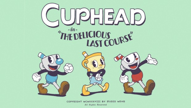 Cuphead: The Delicious Last Course artwork and logo