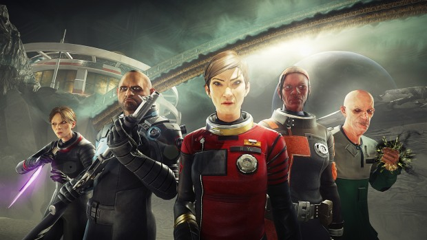 Prey Mooncrash screenshot of the five new playable characters