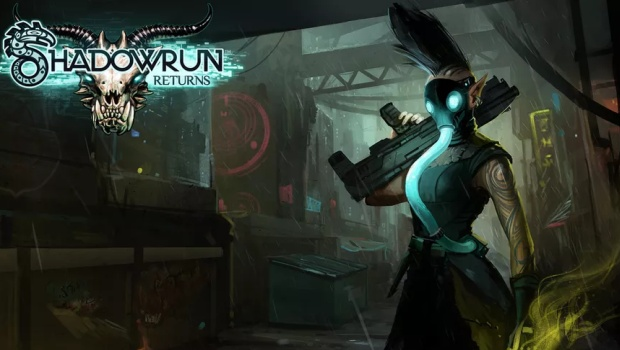 Official artwork and logo for Shadowrun Returns