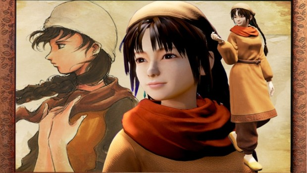 Shenmue 3 artwork for the Shenhua character