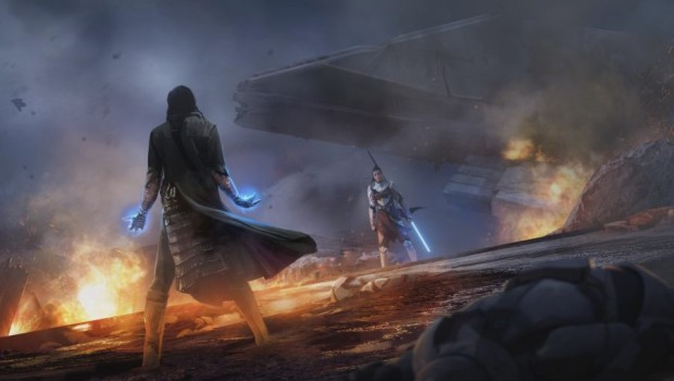 Knights of the Eternal Throne official artwork from SWTOR