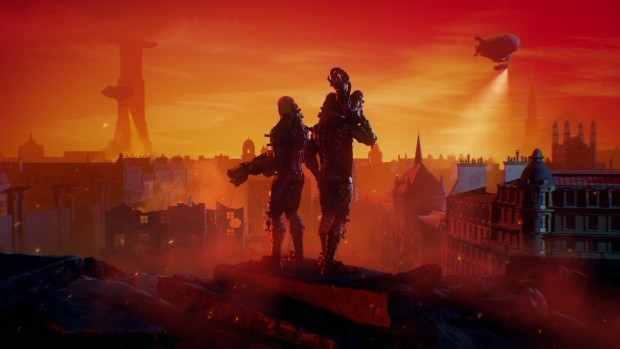 Wolfenstein Youngblood screenshot of our two female protagonists