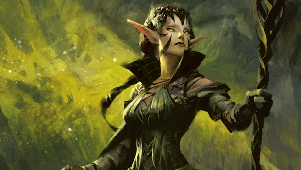 Magic the Gathering official artwork for Nissa